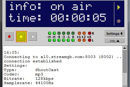 Butt el Encorder para tu radio en linea